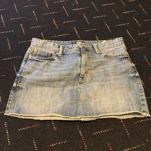 Cute Jean Mini Skirt